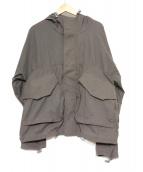 BASISBROEK(バーシスブルック)の古着「フーデッドジャケット」|グレー