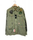 NEIGHBORHOOD(ネイバーフッド)の古着「M-65.M7/C-JKT」|オリーブ