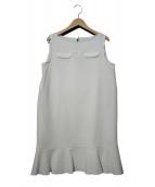 LI HUA(リーファー)の古着「ノースリーブワンピース」|オフホワイト