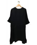 MAISON DE REEFUR(メゾンドリーファー)の古着「ブラウスワンピース」|ブラック
