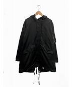 MAGIC STICK(マジックスティック)の古着「ラバーコート」|ブラック