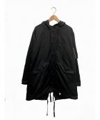 MAGIC STICK(マジックスティック)の古着「ラバーコート」 ブラック