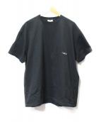 COMMUSE(コミューズ)の古着「フォトTシャツ」 ブラック