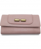 TOFF&LOADSTONE(トフアンドロードストーン)の古着「長財布」|ダスティピンク