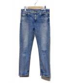 upper hights(アッパー ハイツ)の古着「デニムパンツ」|ブルー