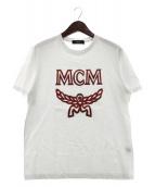 MCM(エムシーエム)の古着「クラシックロゴTシャツ」|ホワイト
