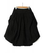 Vivienne Westwood RED LABEL(ヴィヴィアンウエストウッド レッドレーベル)の古着「デザインスカート」|ブラック