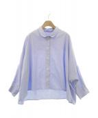 GALLEGO DESPORTES(ギャレゴデスポート)の古着「ショートシャツ」|ブルー