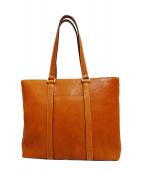 土屋鞄(ツチヤカバン)の古着「トーンオイルヌメデイリートート」|ブラウン