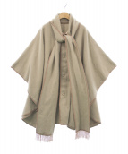 N.HOOLYWOOD(エヌハリウッド)の古着「パイピングポンチョ」 グレー