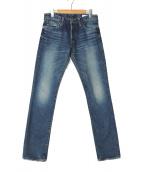 HYKE(ハイク)の古着「デニムパンツ」|ブルー