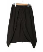 SILENT DAMIR DOMA(サイレント ダミールドーマ)の古着「サルエルパンツ」|グレー