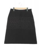 mina perhonen(ミナ ペルホネン)の古着「berryスカート」|ブラック