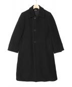 tricot COMME des GARCONS(トリコ・コム デ ギャルソン)の古着「チェスターコート」|ブラック