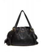 MIU MIU(ミュウミュウ)の古着「ハンドバッグ」|ブラック
