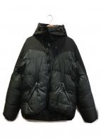 KLATTERMUSEN(クレッタルムーセン)の古着「ダウンジャケット」|グレー×ブラック