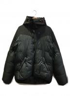 KLATTERMUSEN(クレッタルムーセン)の古着「ダウンジャケット」 グレー×ブラック
