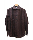 ADORE(アドーア)の古着「リネンシャツ」|ブラウン