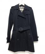 BURBERRY PRORSUM()の古着「トレンチコート」|ブラック