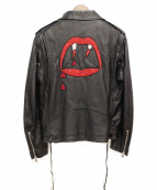 Saint Laurent Paris(サンローランパリ)の古着「BLOOD LUSTER L17/ライダースジャケット」|ブラック