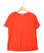 AURALEE(オーラリー)の古着「カシミヤシルクニット」|オレンジ