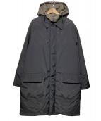 HERMES(エルメス)の古着「ライナー付ダウンコート」|ブラック