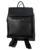 GUCCI(グッチ)の古着「レザーバックパック」|ブラック