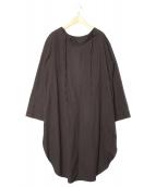 yuni(ユニ)の古着「ブラウスワンピース」|ブラック