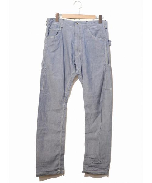 Engineered Garments(エンジニアードガーメン)Engineered Garments (エンジニアードガーメンツ) シャンブレーペインターパンツ ブルー サイズ:32表記 参考定価¥33,000円の古着・服飾アイテム