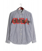 COMME des GARCONS HOMME(コムデギャルソンオム)の古着「CUBA ストライプシャツ」