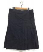 Yohji Yamamoto pour homme(ヨウジヤマモトプールオム)の古着「キルトラップスカート」|ブラック