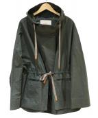 TELA(テラ)の古着「フーデッドコート」|カーキ