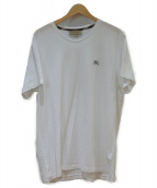 BURBERRY(バーバリー)の古着「コットンジャージーTシャツ」|ホワイト