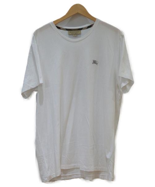 BURBERRY(バーバリーズ)BURBERRY (バーバリーズ) コットンジャージーTシャツ ホワイト サイズ:XLの古着・服飾アイテム
