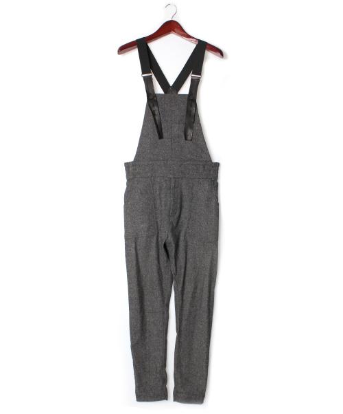 ripvanwinkle(リップヴァンウィンクル)ripvanwinkle (リップヴァンウィンクル) オールインワン グレー サイズ:4 18-19AWの古着・服飾アイテム