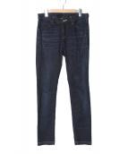 ripvanwinkle(リップヴァンウィンクル)の古着「TAPERED SLIM JEANS デニムパンツ」|インディゴ