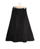 PAN(パン)の古着「SATIN スカート」|ブラック