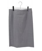 theory(セオリー)の古着「スカート」|グレー