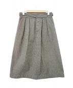 MHL(エムエイチエル)の古着「スカート」 グレー
