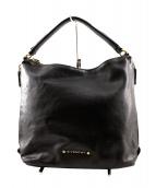 GIVENCHY(ジバンシィ)の古着「レザーワンショルダーバッグ」|ブラック