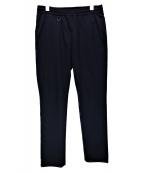 uniform experiment(ユニフォームエクスペリメント)の古着「SLIM FIT EASY SLACKS」|ネイビー