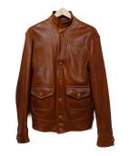 WAREHOUSE(ウェアハウス)の古着「A-1ジャケット」|ブラウン