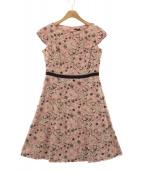 TOCCA(トッカ)の古着「SPRING STARドレス」|ピンク