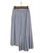 SALT+(ソルトプラス)の古着「アシンメトリープリーツスカート」