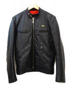 Lewis Leathers(ルイスレザーズ)の古着「ライダースジャケット」|ブラック