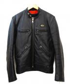 Lewis Leathers(ルイスレザース)の古着「ライダースジャケット」 ブラック
