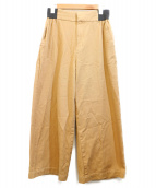 かぐれ(カグレ)の古着「ストレートワイドパンツ」|ベージュ