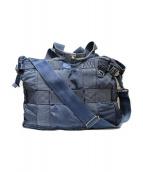 PORTER CLASSIC(ポータークラシック)の古着「S/N2WAYトートバッグ」|インディゴ