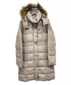 LAUTRE AMONT(ロートレアモン)の古着「ファー付ダウンコート」 モカ