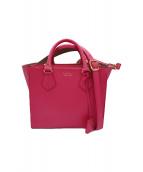 A.D.M.J.(エーディーエムジェー)の古着「2WAYショルダーバッグ」|ピンク
